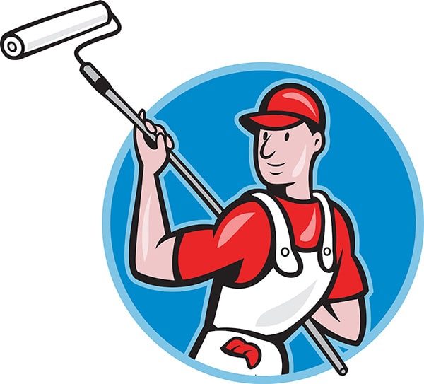 Professional House Painter in Brisbane Illustration