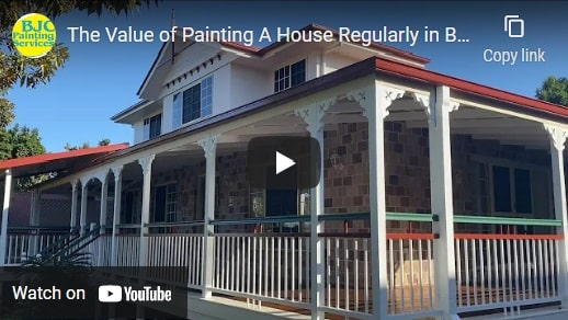The Value of Painting A House Regularly in Brisbane