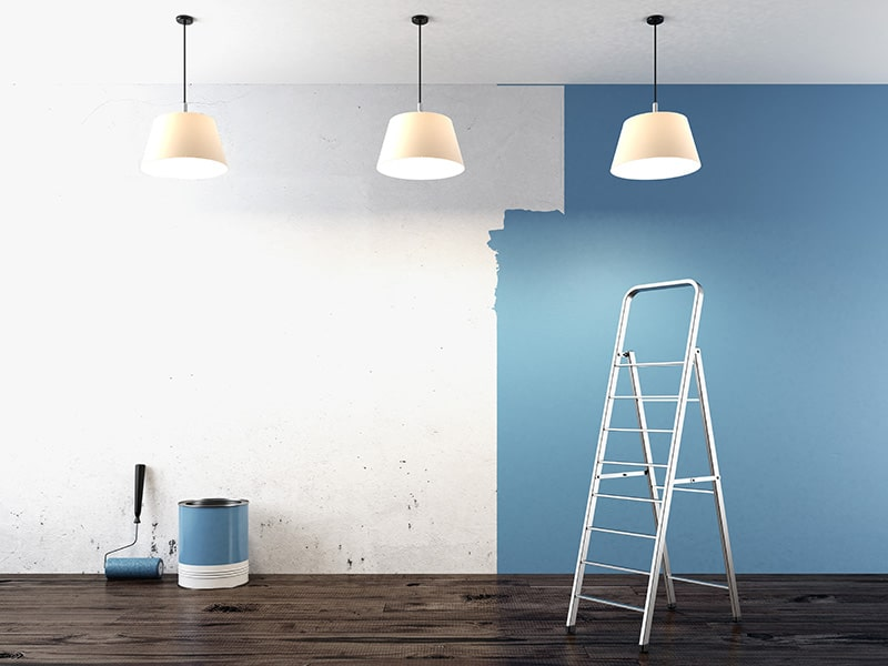 How to paint a house interior in Brisbane