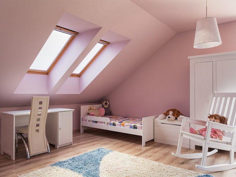 Kid's Room interior paint sample