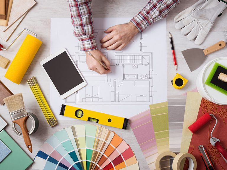 Interior Paint Planning table